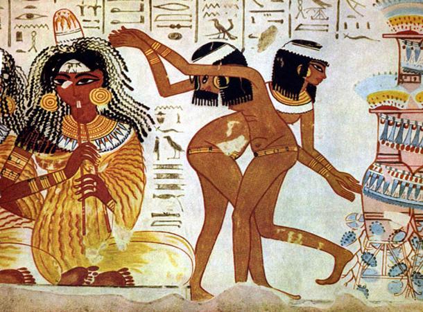 egyptian dance influences