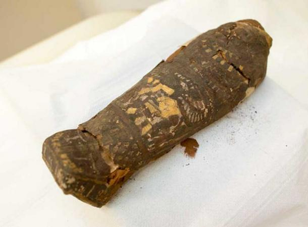Tiny, 2,300-Year-Old Egyptian Mummy Believed to be a Hawk is Actually a Human Fetus