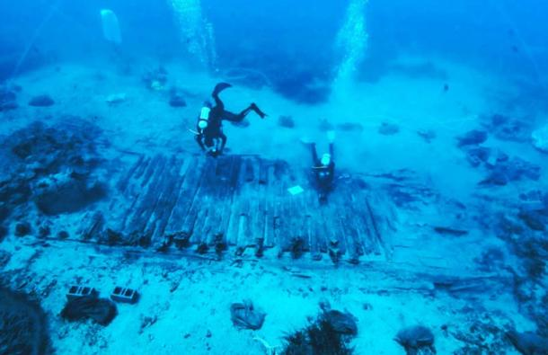 Divers find more artifacts at wreck of the Mentor, which sank carrying the Elgin Marbles