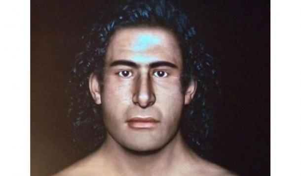 Facial Reconstruction of the so-called 'Griffin Warrior.'