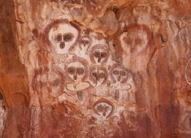 rock art, petroglyphs, Kimberley, Australia, oldest, paintings, Wandjinas, Aboriginal, indigenous