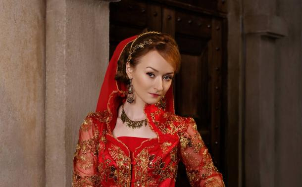 Representation of a powerful wife of a Turkish Sultan