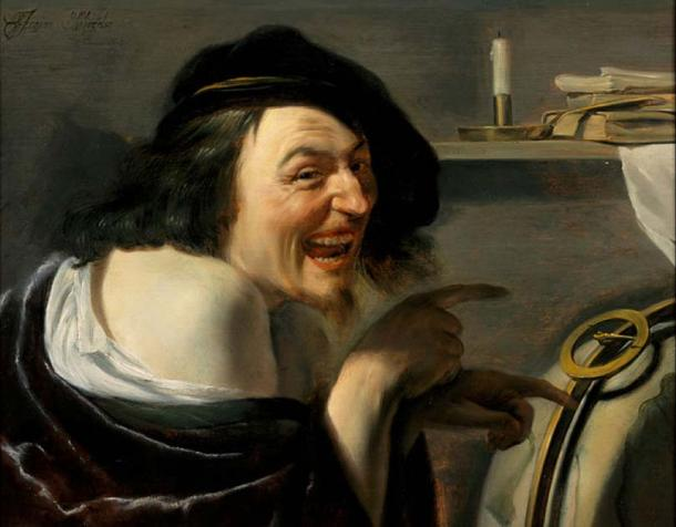 Democritus' (1630) by Johannes Moreelse. There have certainly been some strange and funny events in history.