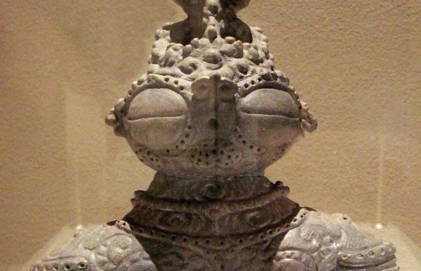 Ancient dogu figurines with large goggle-eyes defy scholarly explanation