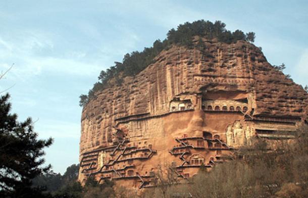 The Ancient Treasure of the Maijishan Grottoes