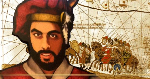 Deriv; Marco Polo travels by camel caravan and a modern re-imagining of Marco Polo