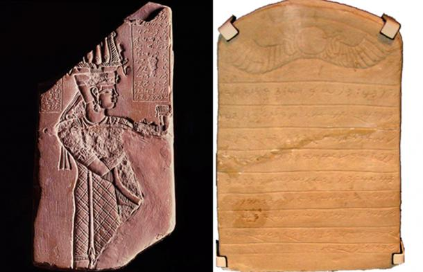 Two examples of Meroitic Hieroglyphs (not found at Abu              Erteila)