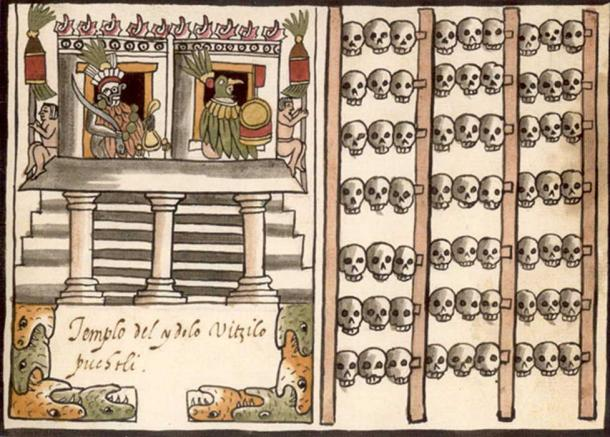 Terrifying Mesoamerican Skull Racks Were Erected to Deter Enemies
