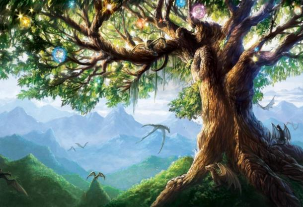 The Norse Legend of the World Tree - Yggdrasil