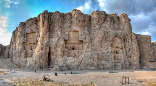 Naqsh-e Rustam: Ancient Tombs of Powerful Persian Kings