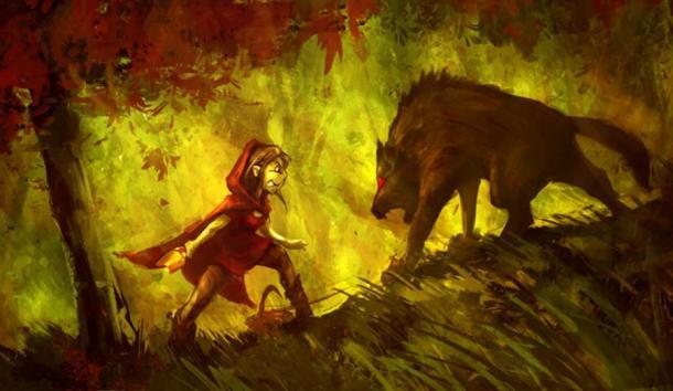 East Meets West: Little Red Riding Hood Versus Japan's Okuri-Inu