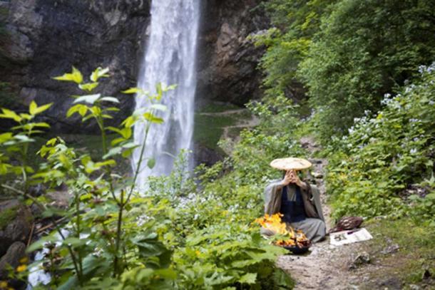 The practice of Onmyōdō. Source: Epiximages / Adobe Stock.