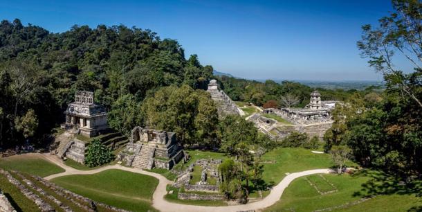 The city of Palenque. Source: Jérôme Rommé / Adobe Stock.