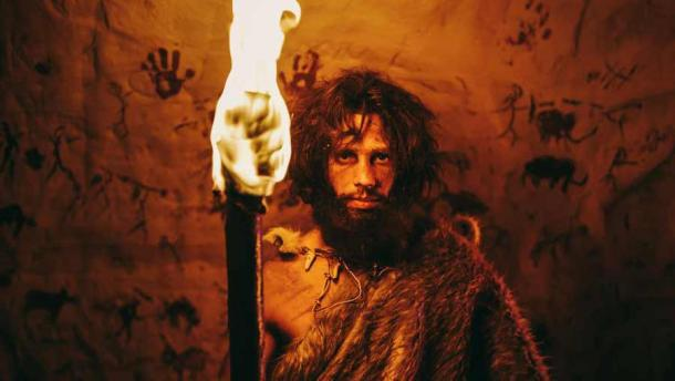 Paleolithic cave dwellers used torches, lamps, and fireplaces. Source: Gorodenkoff /Adobe Stock