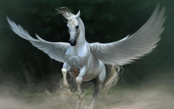 pegasus  the majestic white horse of olympus