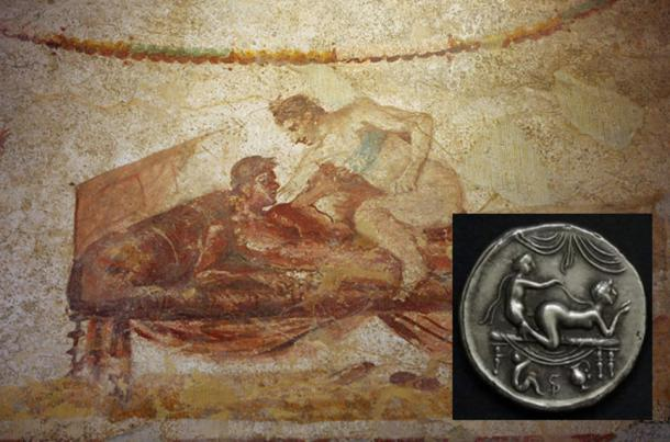 Paying for Services: Illicit Brothel Coins of Pompeii Show What's on The Menu