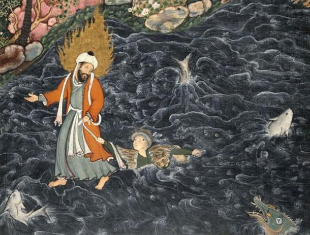 The Strange Life of Al-Khidr, the Legendary Immortal Prophet, Mystic, Trickster and Sea Spirit