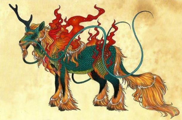 Qilin of Chinese mythology Qilin
