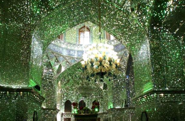 Inside Shah Cheragh.