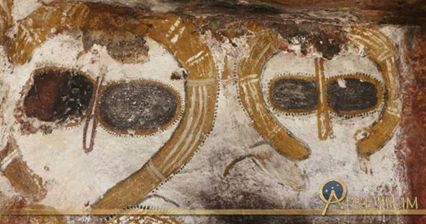 Humanoid figures, Kimberley, Australia.