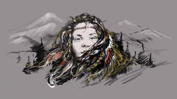 The Female Siberian Ice Maiden Whose Legends Lives On