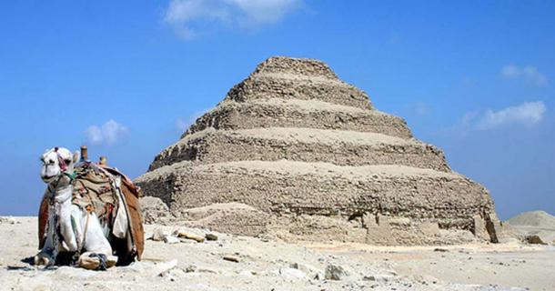 The Saccara Pyramid of Djoser, Egypt.