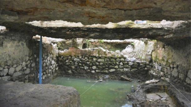 The temazcal, sweat lodge, found in La Merced, Mexico City, Mexico. Source: INAH