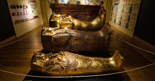 Did You Know that Tutankhamun Was Buried in Not One but THREE Golden Sarcophagi?