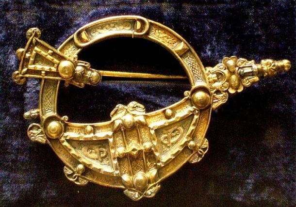 Copy of the 8th century Tara Brooch.