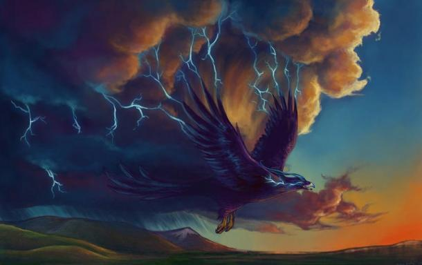 Native American Legends of Mount Katahdin: Home of Powerful Thunderbirds and the Lord of Storms