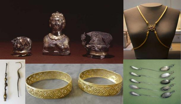 1000 Images About Artifacts Archaeological Treasures On: The Hoxne Hoard: How A Mislaid Hammer Led To The Largest