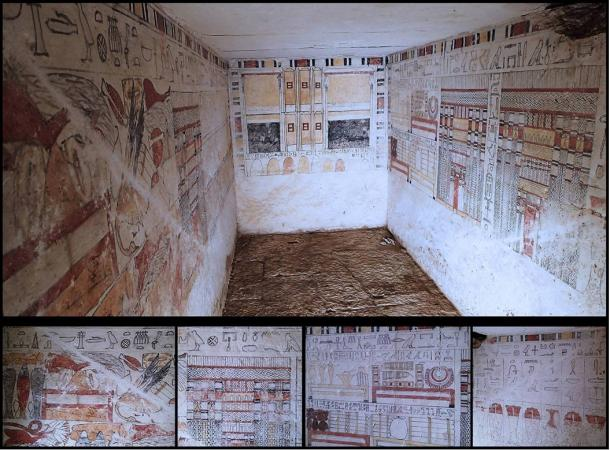 Archaeologists uncover 4,200-year-old Tombs of ancient Egyptian priests