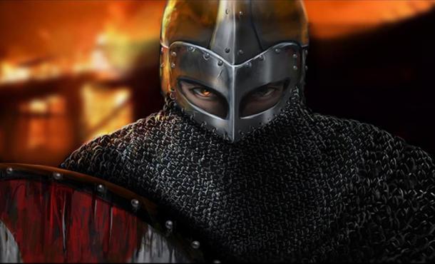 Modern Representation of a Varangian Guard.