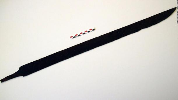 Hiker stumbles upon 1,200-year-old Viking sword while walking an ancient trail in Norway