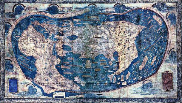 Hidden secrets revealed in 1491 world map that may have guided Columbus