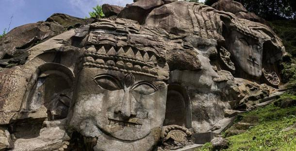 The mysterious unakoti bas reliefs million deities and