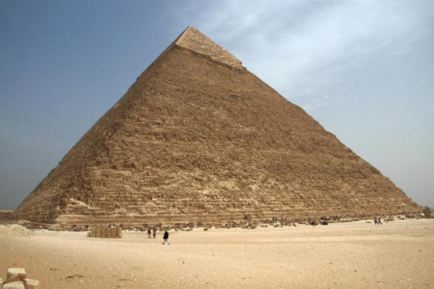 Great Pyramid of Giza Was Lopsided Due to Construction Error