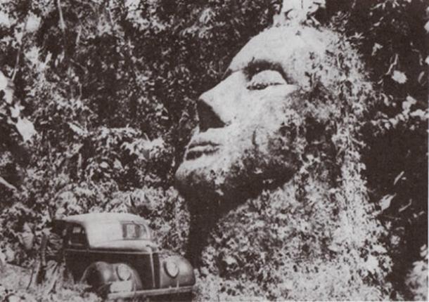 Gutemala Stone Head