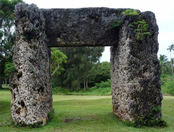 The Megalithic Gate of Ha-amonga a Maui