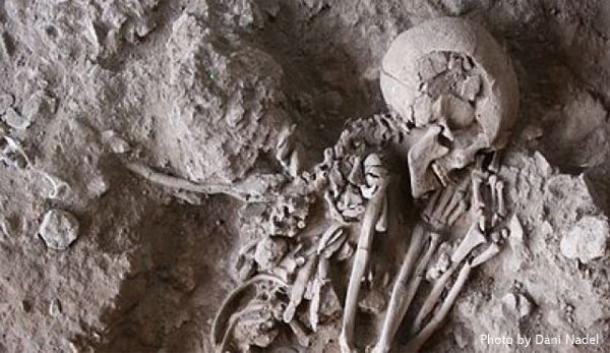Caveman Artefacts : Prehistoric man in israel held ritual meals to honour the