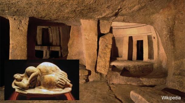 The Hypogeum of Hal Saflieni and an unknown race with elongated skulls