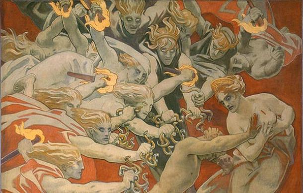 an analysis of the role of hades in the mythology of ancient greece Chthonic deities or gods home the titans the olympian gods other deities greek heroes mythical creatures ancient greece a guardian of the keys of hades and a.