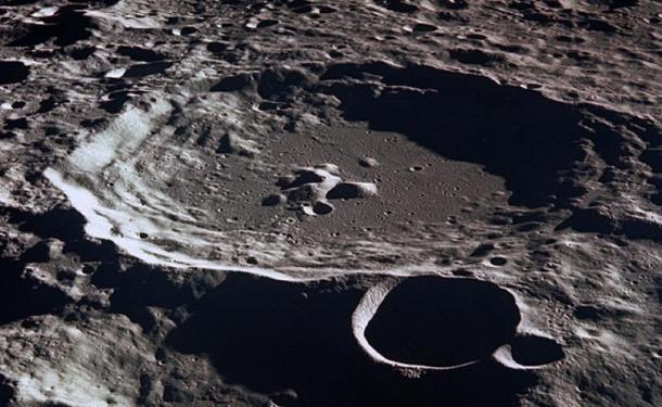 alien material found on the moon
