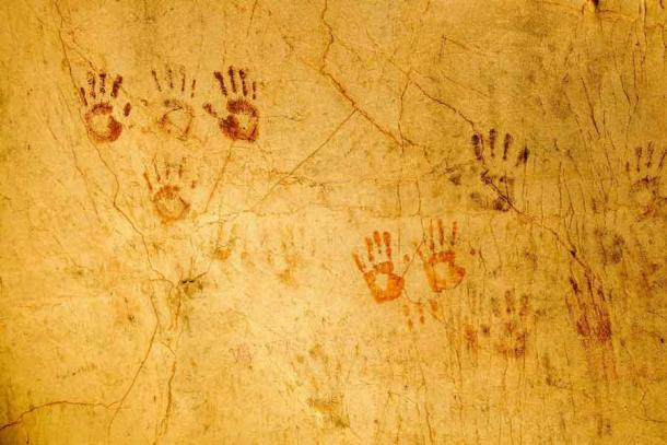 Child's Handprints in Mexican Cave Reveal Ancient Maya Ritual