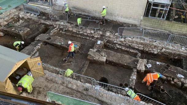 Foundation Dig Finds Evidence of Medieval Scotland in Inverness