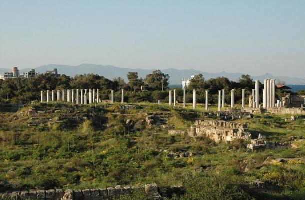 The Ancient Ruins of Salamis, the Once Thriving Port City of Cyprus