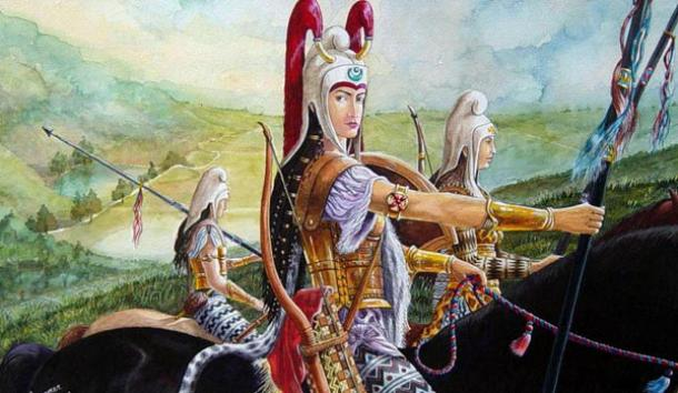 Tattooed Scythian Warriors, Descendants of the Amazons? Part Three ...
