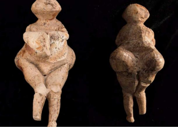 The exceptionally rare Venus is made from a mammoth tusk and it portrays a fat, maybe pregnant woman, with a big belly and bust.