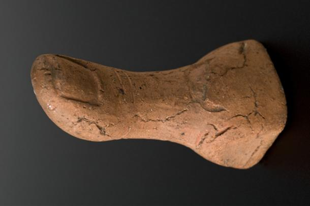Some of the figurines lend further mystery to the question of the votives' purpose: Why was this thumb made, though anyone who's had a horribly painful sprained thumb may know the answer well.