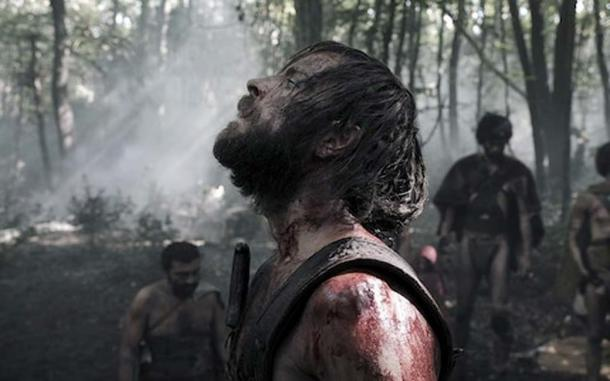 A still from a new film about Romulus - Il Primo Re (The First King). (The Telegraph)